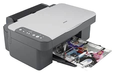 Epson DX DX3850 Printer Reset