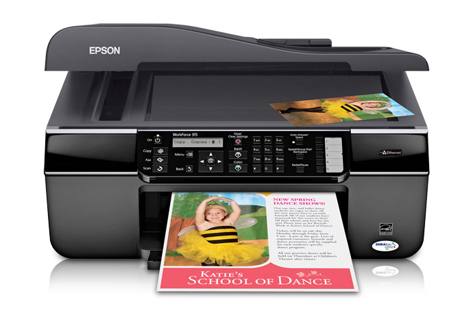 Epson WorkForce 315 Printer Reset