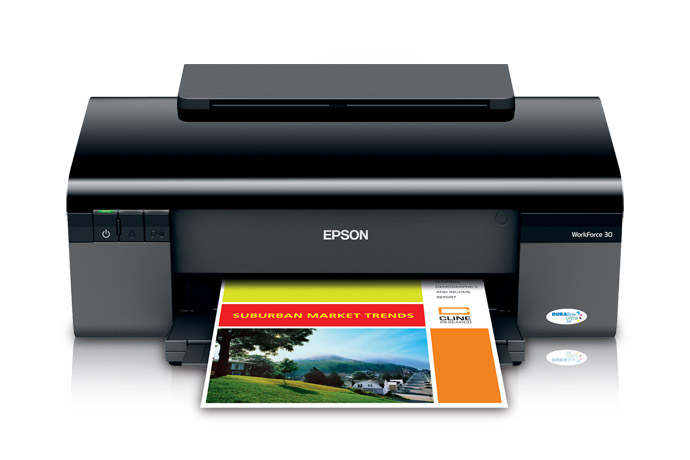 Epson WorkForce 30 Printer Reset