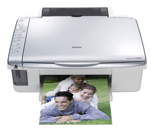 Epson DX DX4850 Printer Reset