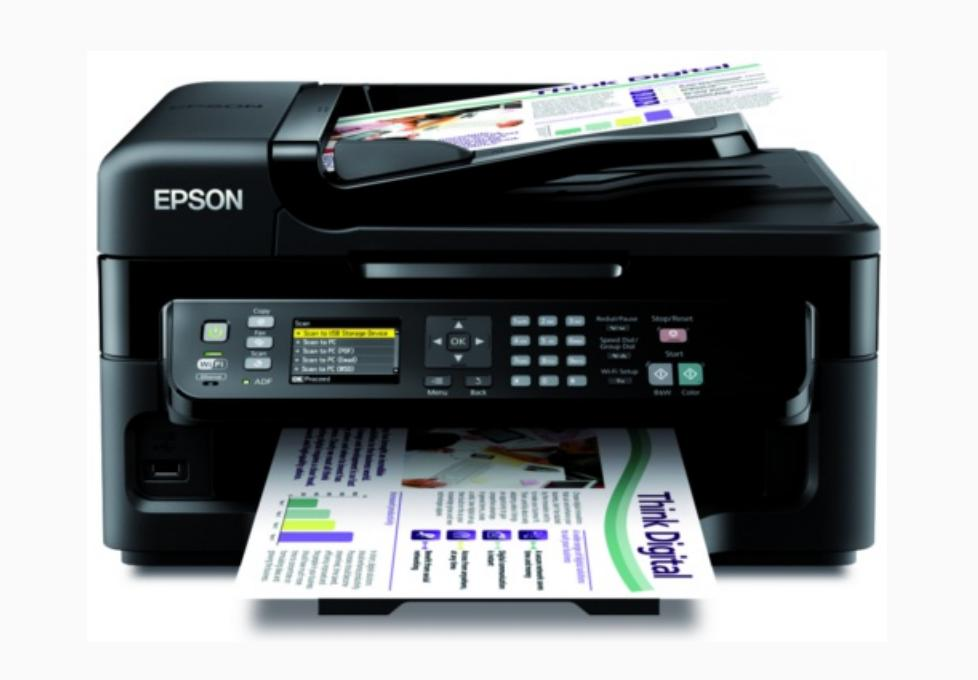 Epson WorkForce WF-2548 NEW Printer Reset
